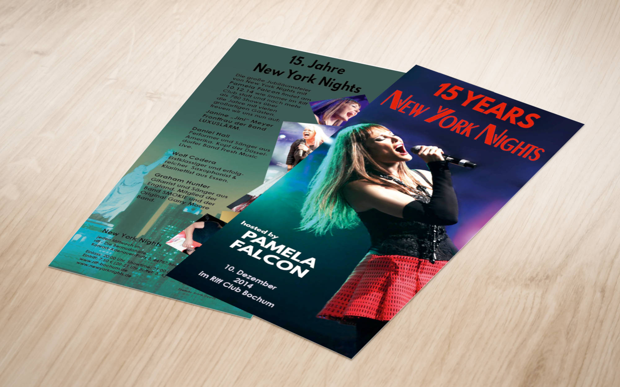 Flyer Layout (Front & Back)